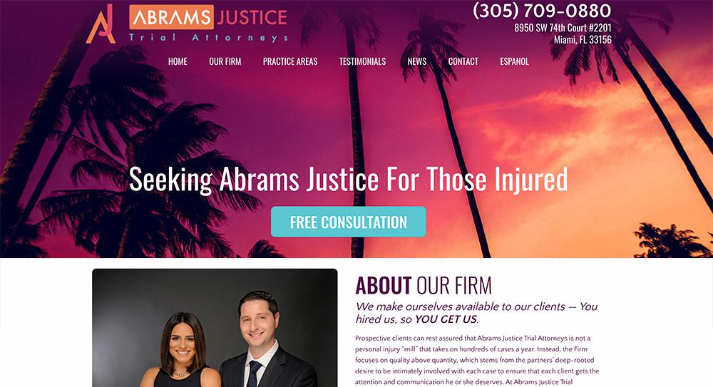 Abrams Website