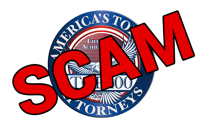 America's Top 100 Attorneys - SCAM