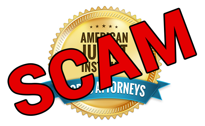 American Jurist Institute – SCAM