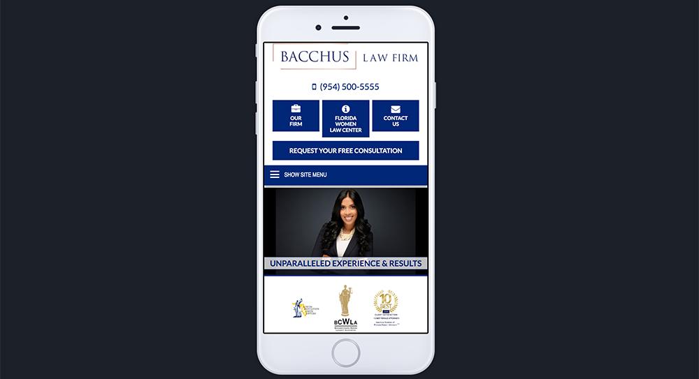 Bacchus Website