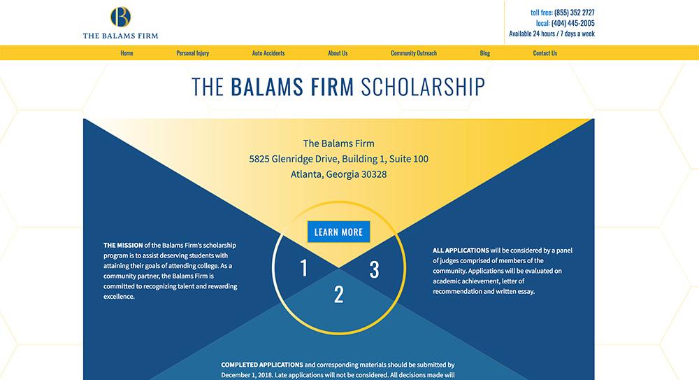 Balams Website