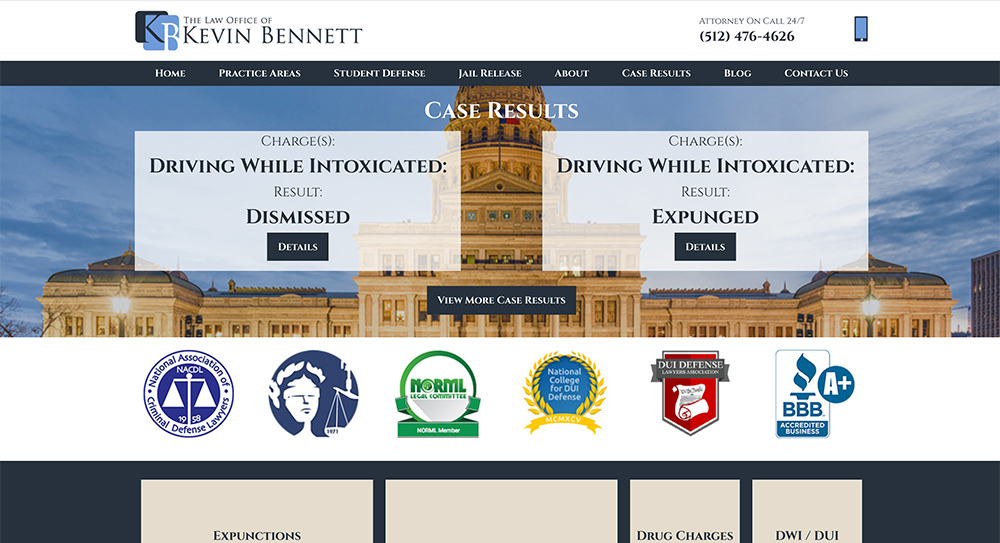 Kevin Bennett Website