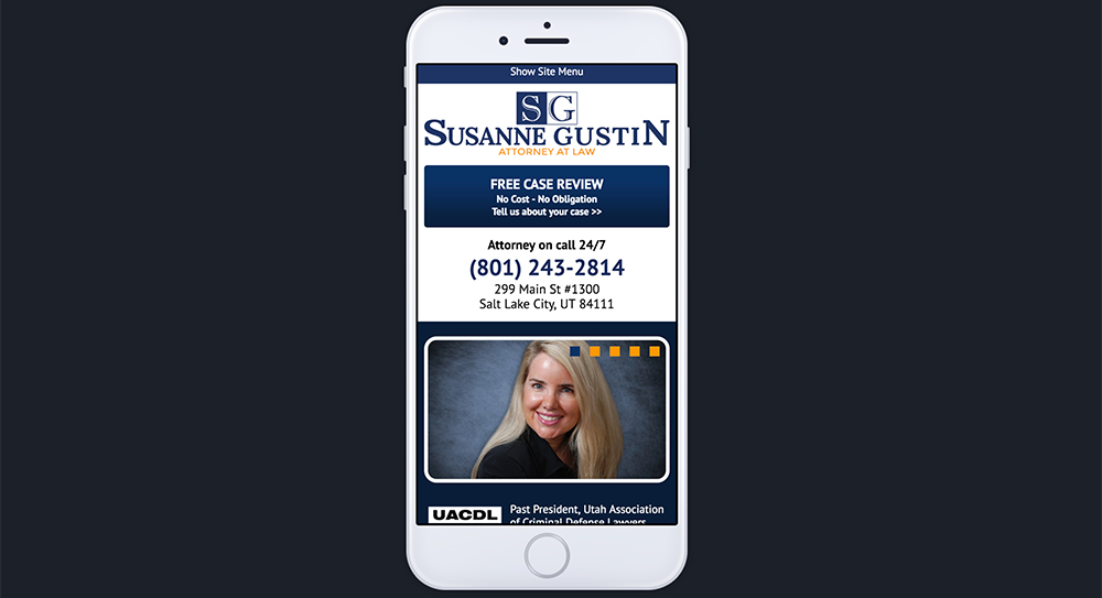 Susanne Gustin Website