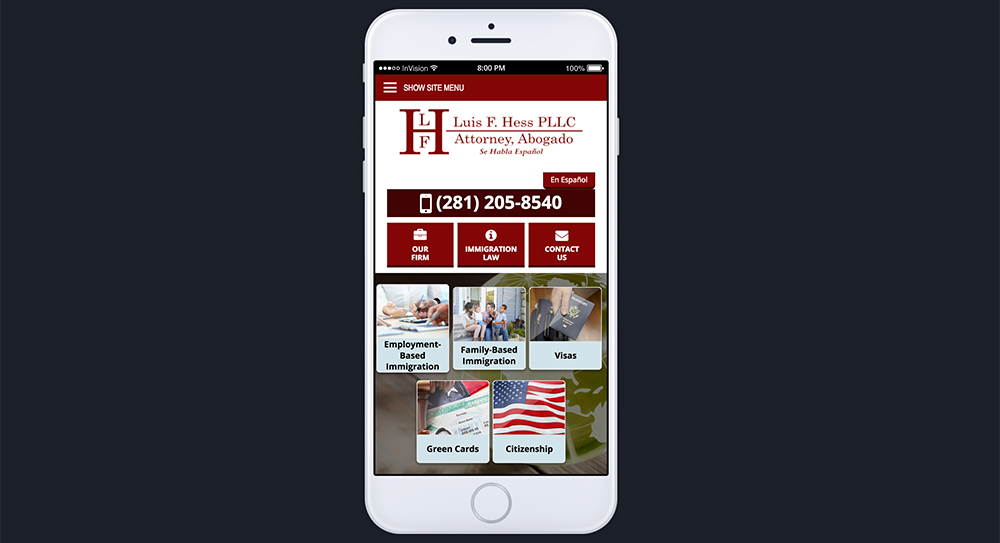 Hess Website