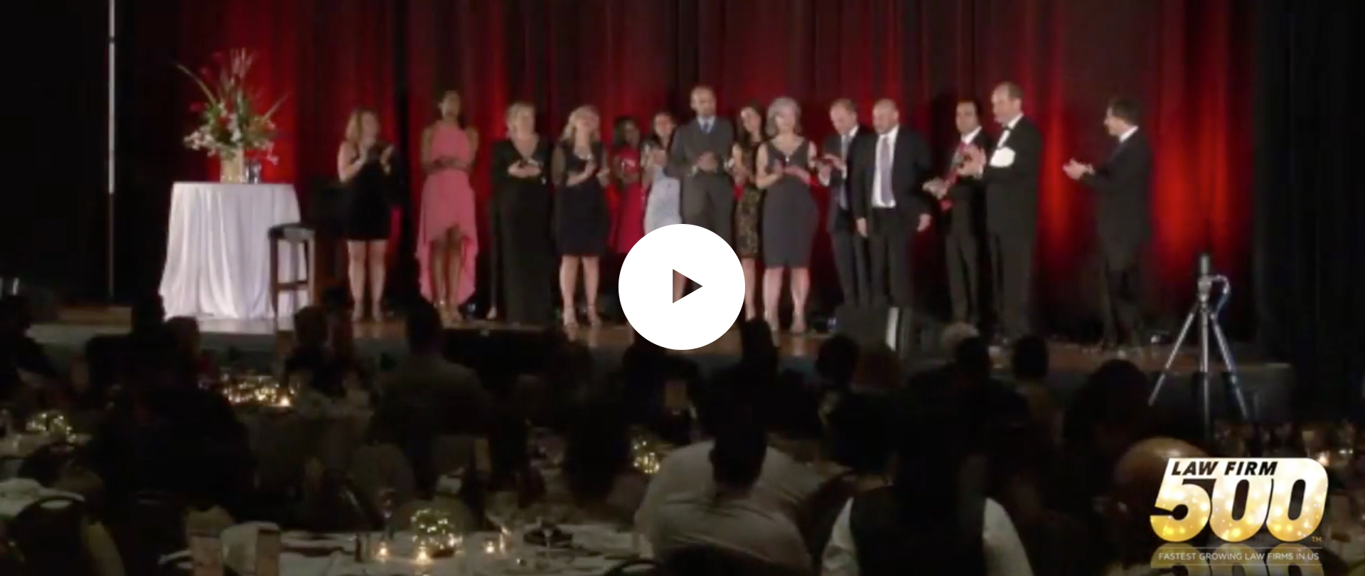 Video: Meltzer & Bell Accept the 2017  Law Firm 500 Award for #1 Fastest  Growing Law Firm