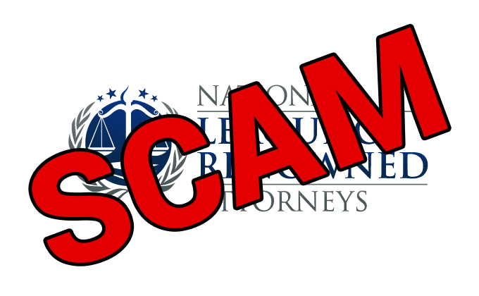 National League of Renowned Attorneys – SCAM