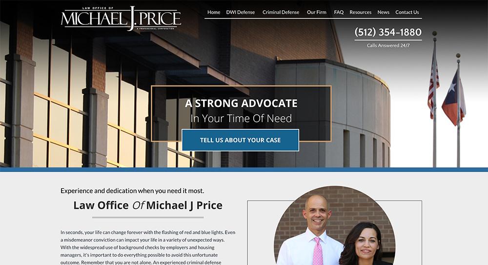 Michael J. Price Website