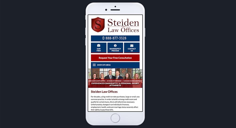 Steiden Website