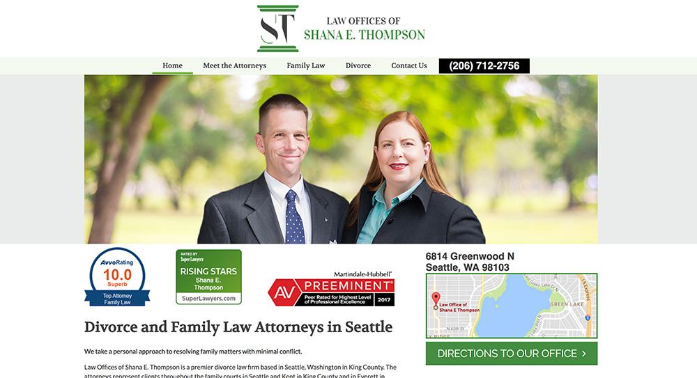 Thompson Website