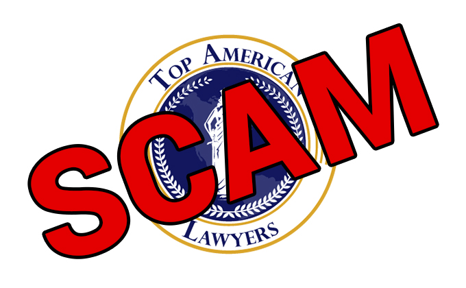 Top American Lawyers – SCAM