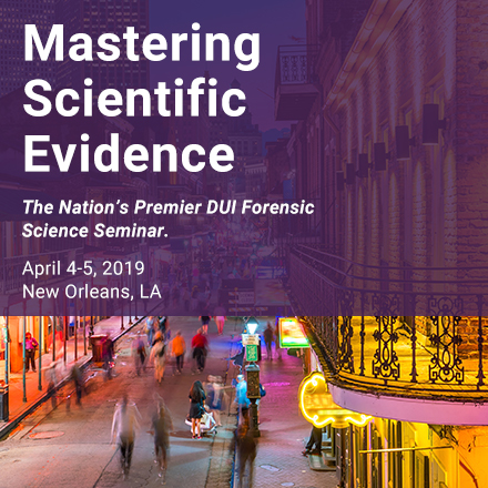 Mastering Scientific Evidence 2019